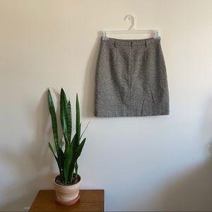 Club Monaco Wool Pencil / Mini Skirt